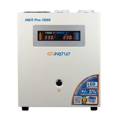 Инвертор (UPS, бесперебойник) 220В 1000 Энергия ИБП Pro