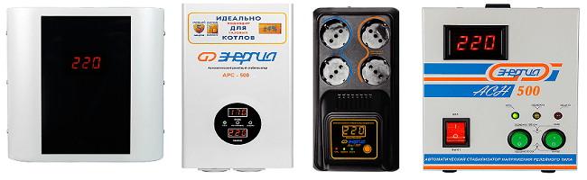 Стабилизатор напряжения 0.5 кВт - фото