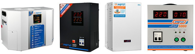 Стабилизатор напряжения 5 кВт однофазный - фото