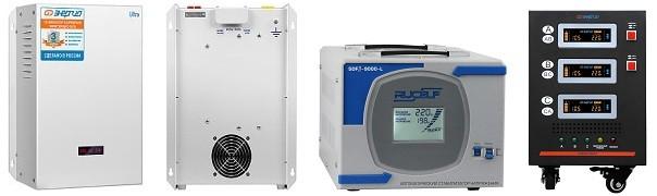 Стабилизатор напряжения 9 кВт - фото