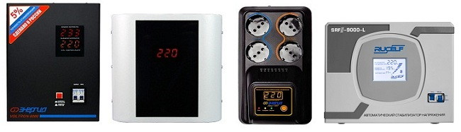 Стабилизатор напряжения с защитой по току - фото