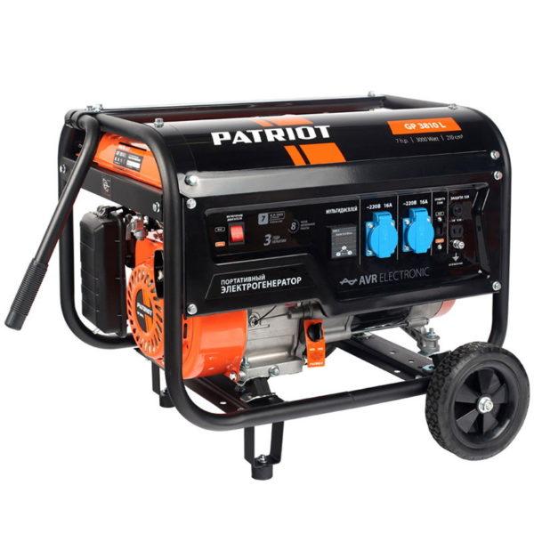 Генератор Patriot GP-3810L — фото
