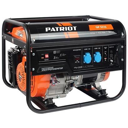 Генератор Patriot GP-5510 — фото