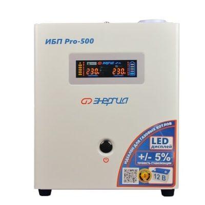 Инвертор (UPS, бесперебойник) 220В 500 Энергия ИБП Pro