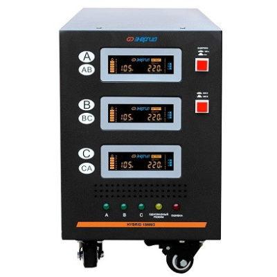 Стабилизатор напряжения 380В 15000 Энергия Hybrid