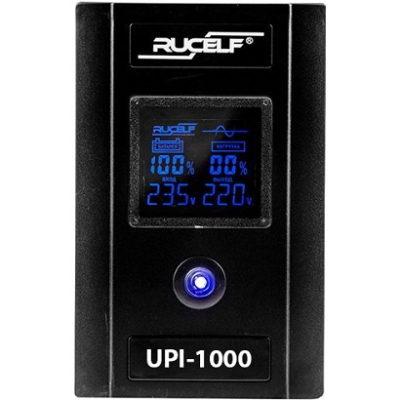 Инвертор (ИБП, бесперебойник) 220В 1000 Rucelf UPI - фото